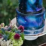 A Starry Night Cake