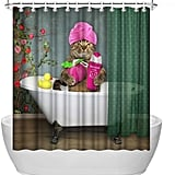 ArtBones Animal Shower Curtain