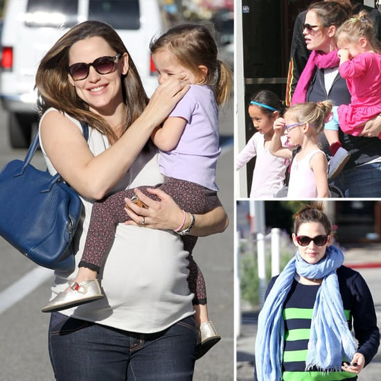 Jennifer Garner Maternity Fashion Third Pregnancy ...