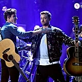 Shawn Mendes and Justin Timberlake