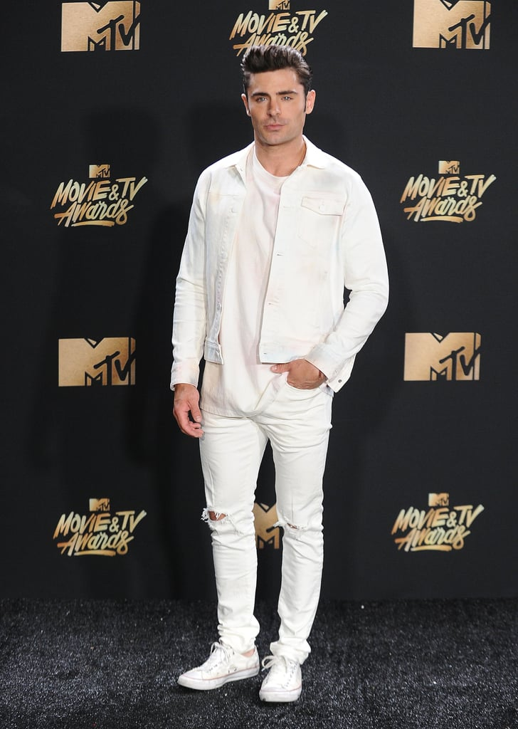 Zac Efronu0026#39;s Outfit At The 2017 MTV Movie And TV Awards | POPSUGAR Fashion Photo 2