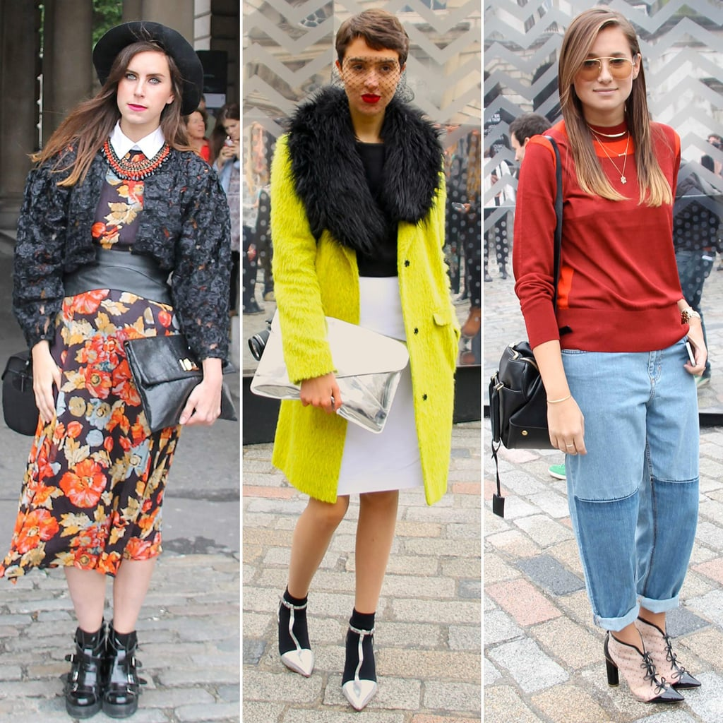 London Fashion Week Street Style Pictures Popsugar Fashion Uk