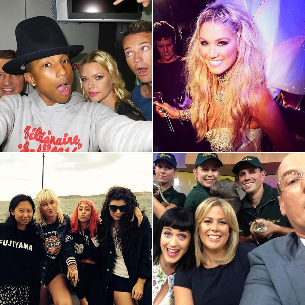 Celebrity Twitter and Instagram Pictures Week March 7 2014