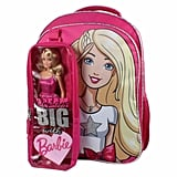 Barbie Kids Backpack with Bonus Barbie Doll and Detachable Carrying Case