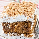 Gingerbread Butterscotch Poke Cake