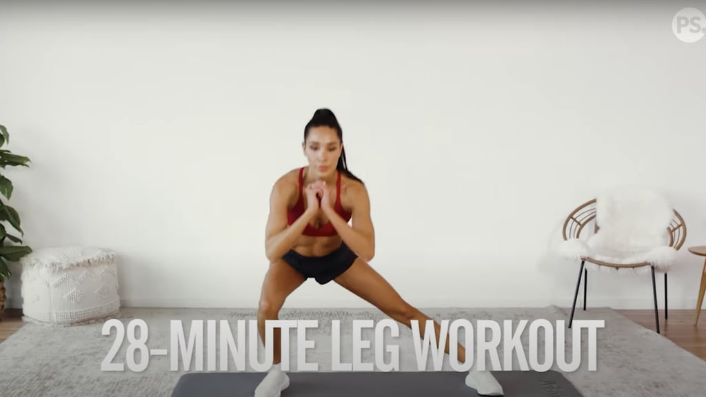 4-Week No-Equipment Workout Plan Weeks 1 and 3: Legs