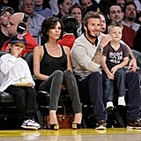 The Beckhams Family Love of 2009!
