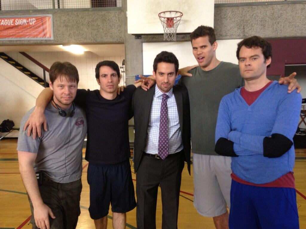 The cast posed with special guests Kris Humphries and Bill