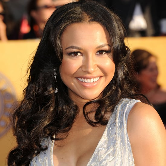 Glee's Naya Rivera's Hair and Makeup at the 2012 SAG Awards