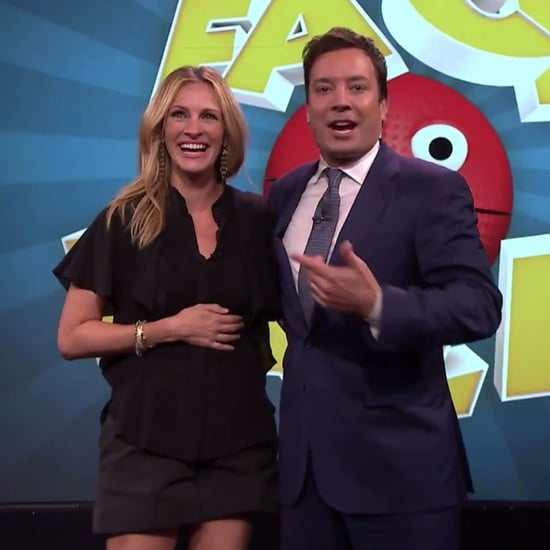 Julia Roberts Plays Face Balls With Jimmy Fallon