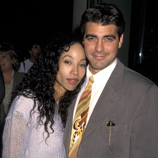 George Clooney and actress Kimberly Russell dated for a few years following his divorce, but they split in 1995.