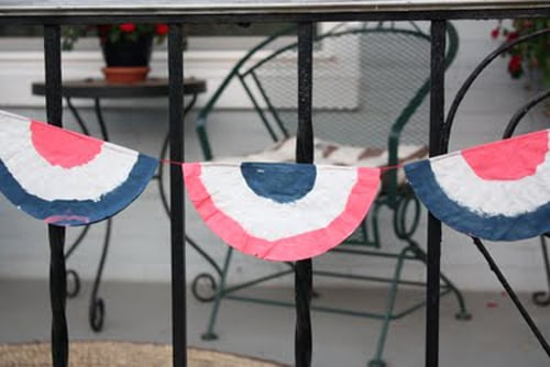 Red, White, and Blue Bunting