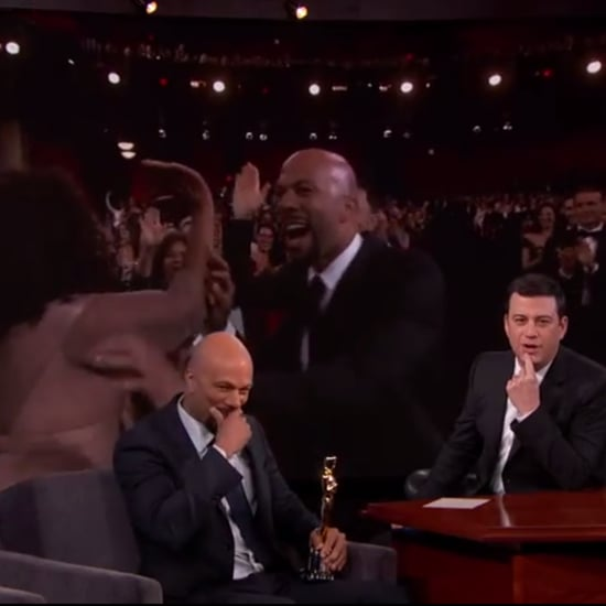 "Common Explains Why He ""Left Oprah Hanging"" With a High Five at the Oscars"