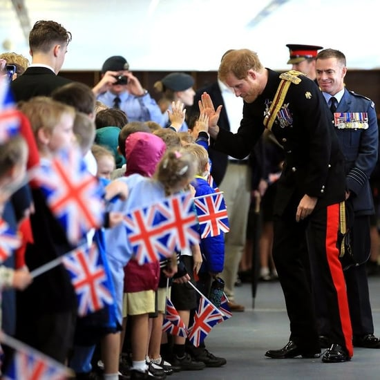 Prince Harry Visiting Suffolk July 2017