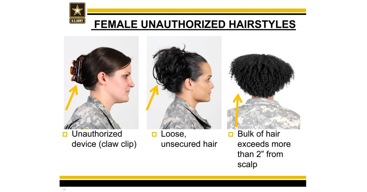 Source U S Army Women With Natural Hair Petition Army