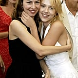 Scarlett shared a hug with her Lost in Translation director, Sofia Coppola, in 2003.