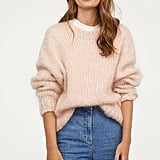 H&M Knit Mohair-Blend Sweater