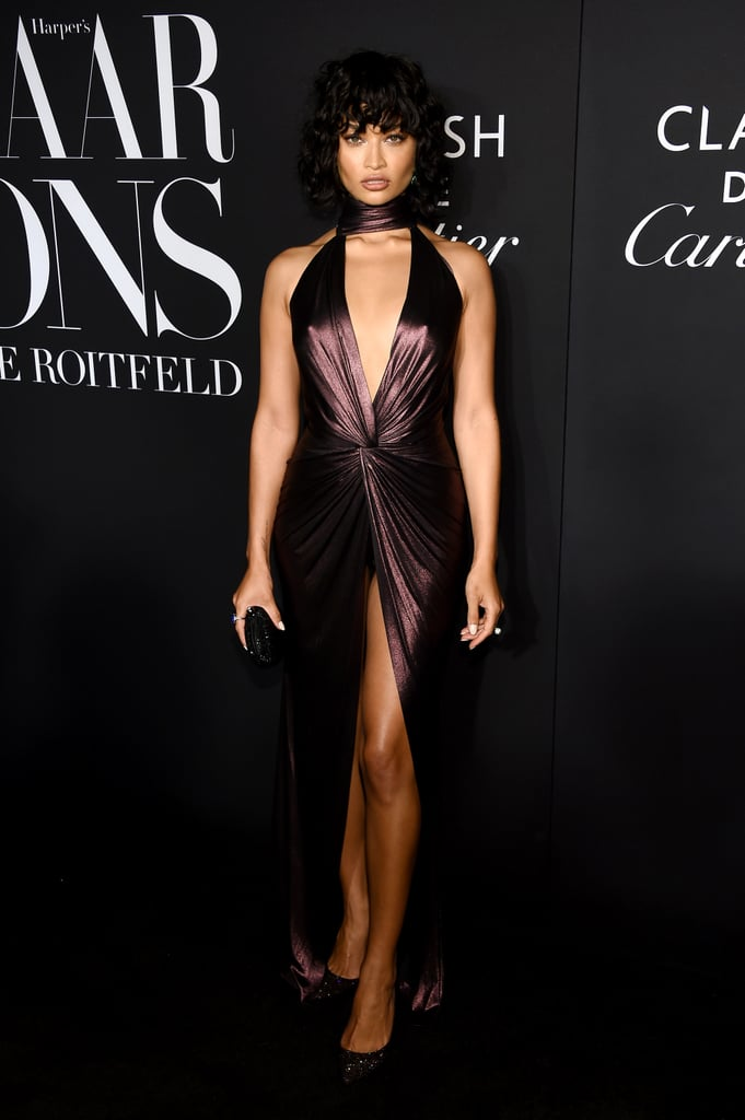 Shanina Shaik at the Harper's Bazaar ICONS Party During New York Fashion Week