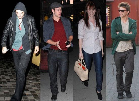 Photos of Robert Pattinson, Kellan Lutz, Xavier Samuel and Eclipse Cast
