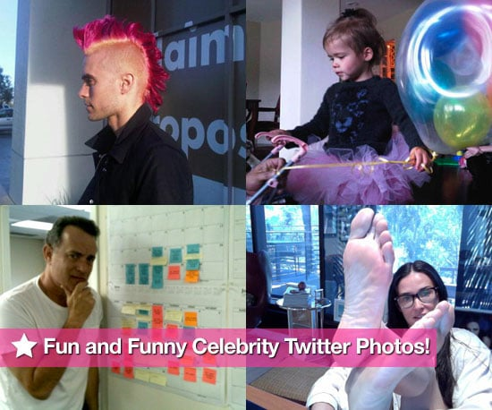 Tom Hanks, Bethenny Frankel, Demi Moore, and Jared Leto in This Week's Celebrity Twitter Photos!
