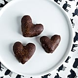 Heart-Shaped Chocolate-Covered Almonds
