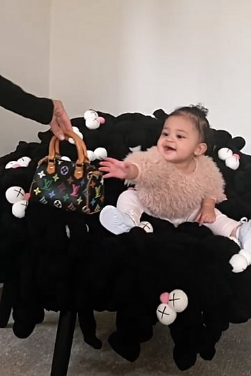 Stormi Webster Mini Louis Vuitton Bag Video