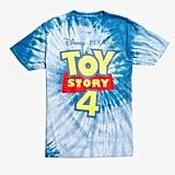 Disney Pixar Toy Story 4 Logo Tie-Dye T-Shirt