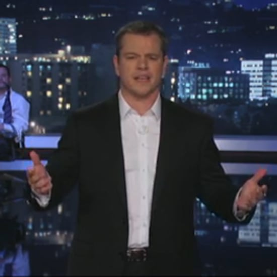 Matt Damon and Ben Affleck on Kimmel January 2013