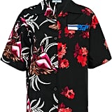 Prada Floral Short-Sleeve Shirt
