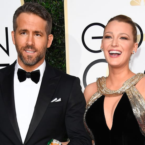 Ryan Reynolds et Blake Lively Aux Golden Globes 2017