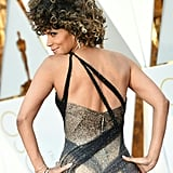 When the Crisscross Details on Halle Berry's Dress Made It Sexier