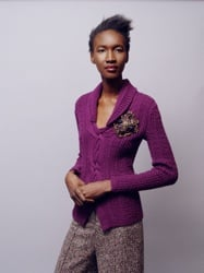 Oscar de la Renta Fall 2008 Fashion Show Including Plum Garments As Seen Throughout Fashion Week