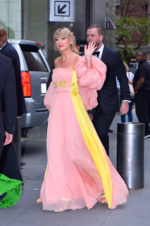 Taylor Swift S Dress At Time 100 Gala Popsugar Fashion