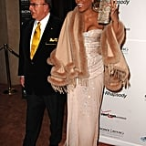 Whitney joined Clive at his 2007 pre-Grammys party.