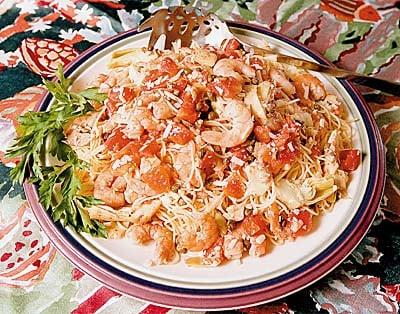 Monday's Leftovers: Summer Shrimp Pasta