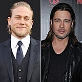 """While many love the movie Fight Club for its brassy and intense subject matter, Charlie Hunnam was busy looking at something else. Charlie spoke with Yahoo! about his 2013 film, Pacific Rim, and confessed that Brad Pitt's physique in Fight Club set the standard way too high for everyone else: """"Brad Pitt ruined it for everyone, after Fight Club the expectations of what a dude is supposed to look like shirtless went from here to here."""""""