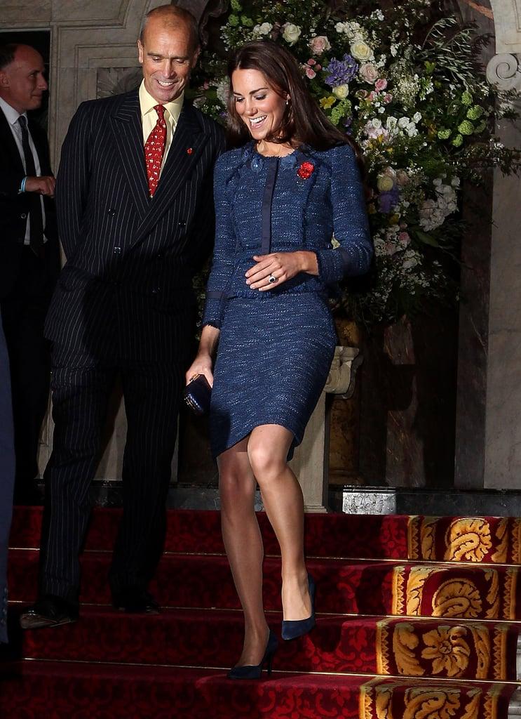 ارتدت كيت بذلة ريبيكا تايلور للمرة الأولى عام 2012