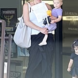 Christina Applegate With Her Daughter, Sadie