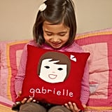Personalized Olliegraphic Pillow ($59)