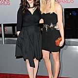 Kat Dennings and Beth Behrs at the People's Choice Awards.