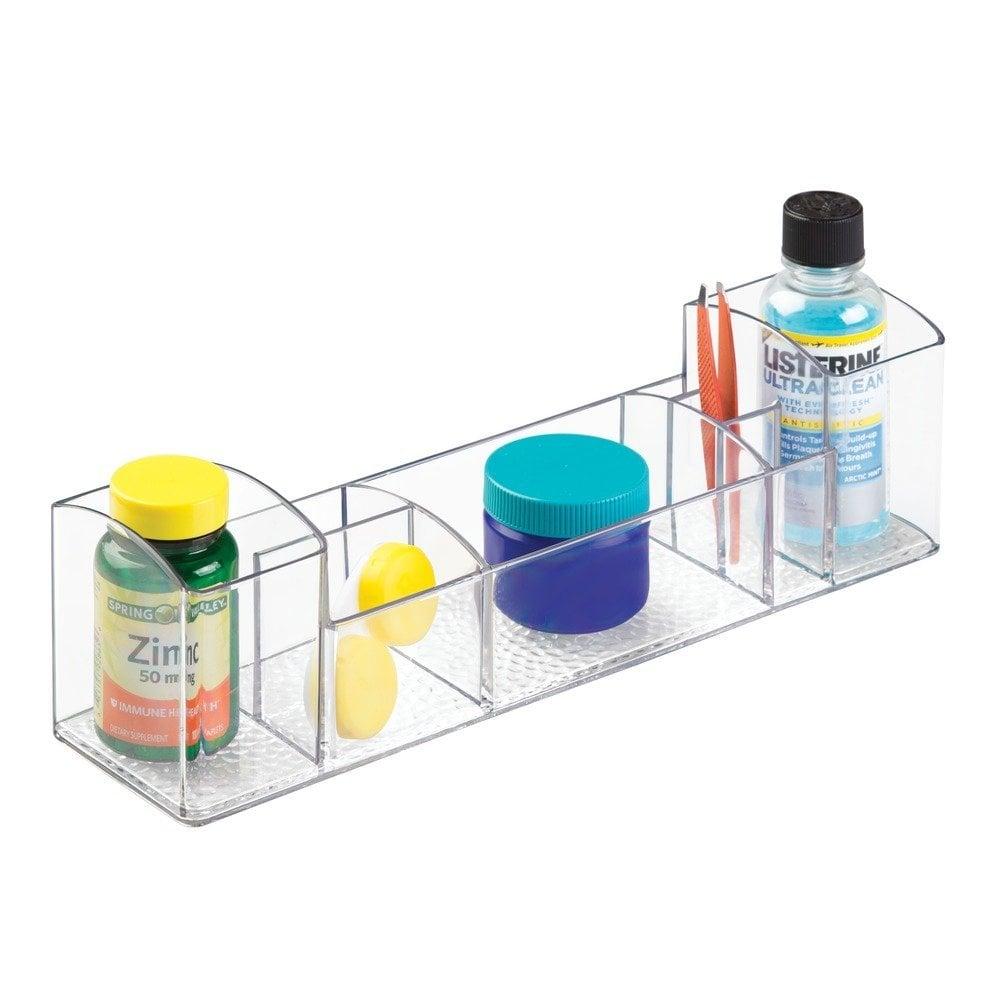 InterDesign Bathroom Medicine Cabinet Organizer