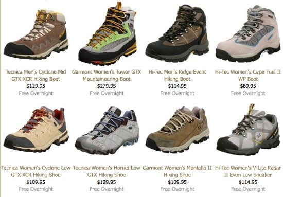 Online Sale Alert: Save on Hiking Boots