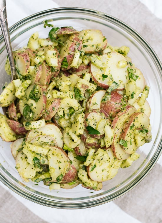 Dijon-Herb Potato Salad