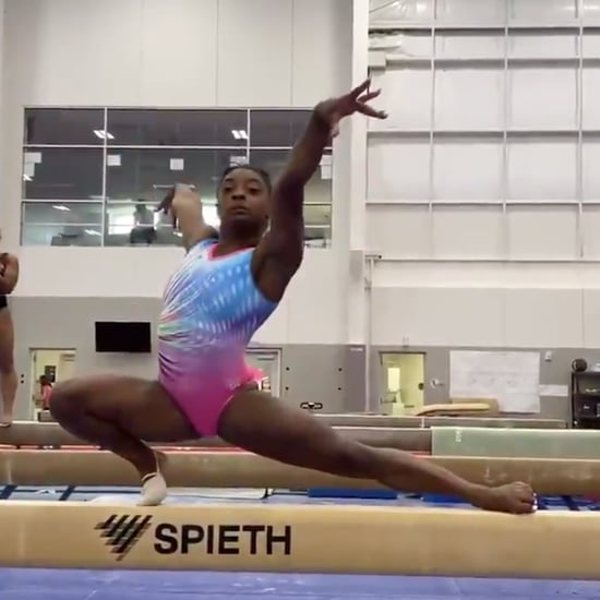 Watch Simone Biles Spins 6 Times on the Balance Beam