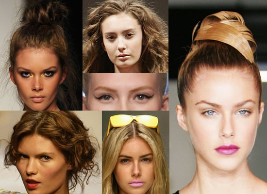 The Best Hair and Makeup Looks From RAFW