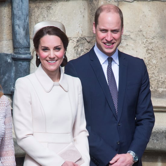 Kate Middleton and Prince William at Easter Service 2017