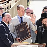 Prince William in Jerusalem June 2018