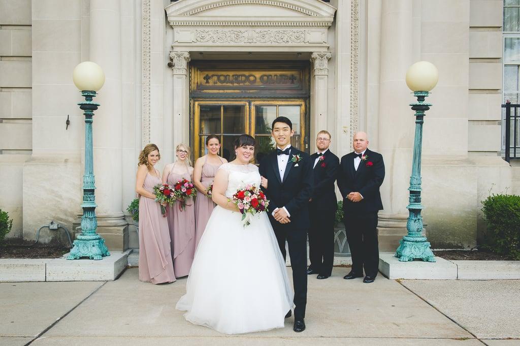 Groom's Reaction at His Korean-American Wedding