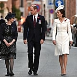 Though This Was the Third Time Kate Wore the Coat Dress . . .