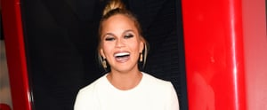 Chrissy Teigen Had Zero Clue How Cute Her Baby Shower Outfit Was